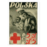 1947 Polish Red Cross Post Cards