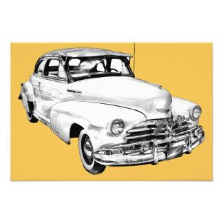 1948 Chevrolet Fleetmaster Car Illustration Photo Print
