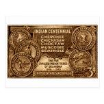 1948 Oklahoma Indian Centennial Stamp