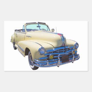 1948 Pontiac Silver Streak Convertible Car Sticker