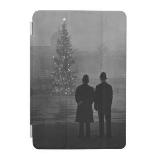 1948: Two policemen regard Christmas Tree iPad Mini Cover