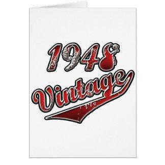 1948 Vintage Card