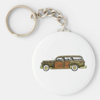 1949 Chrysler Town & Country Station Wagon Key Ring