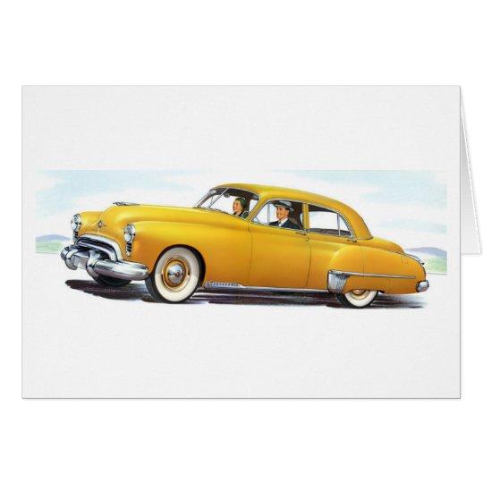 1949 Oldsmobile 98 Futuramic Card