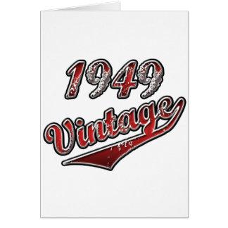 1949 Vintage Card