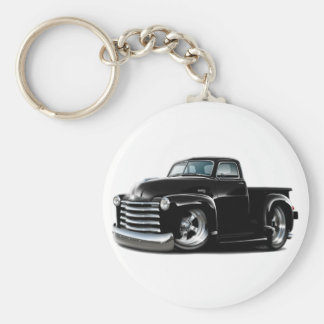 1950-52 Chevy Black Truck Key Ring