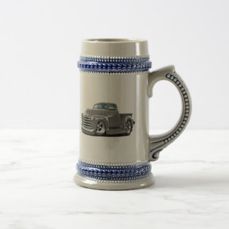 1950-52 Chevy Grey Truck Beer Stein