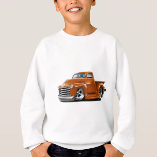 1950-52 Chevy Orange Truck Sweatshirt