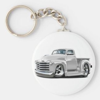 1950-52 Chevy White Truck Key Ring