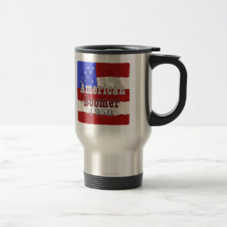 1950 Birthday Baby Boomer Travel Mug