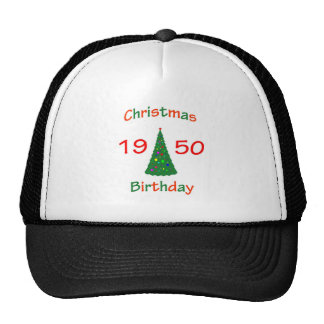 1950 Christmas Birthday Trucker Hat