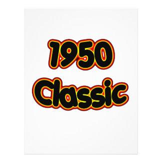 1950 Classic 21.5 Cm X 28 Cm Flyer