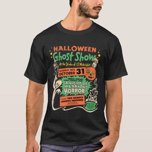 1950 Halloween Ghost Show T-Shirt