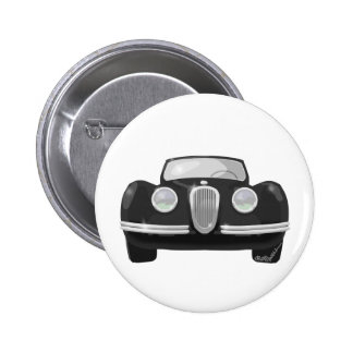 1950 Jaguar XK120 6 Cm Round Badge