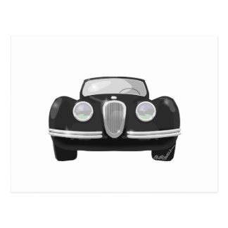 1950 Jaguar XK120 Postcard