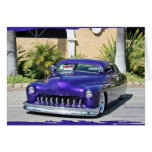1950 Mercury Coupe (chopped) Card