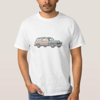 1950 Mercury Woody Station Wagon - blue T-Shirt