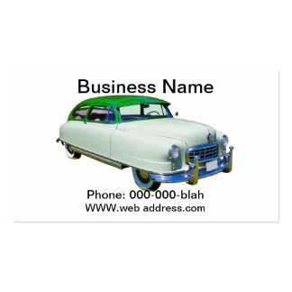 1950 Nash Ambassador Antique Car Pack Of Standard Business Cards