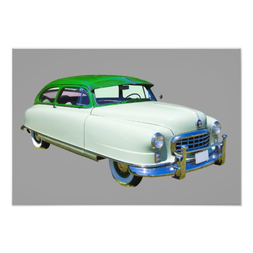 1950 Nash Ambassador Antique Car Photograph