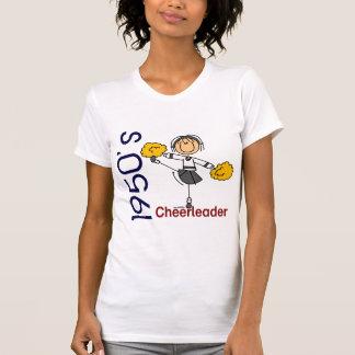 1950's Cheerleader Stick Figure T-Shirt