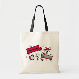 1950 s Living Room Set Canvas Bags