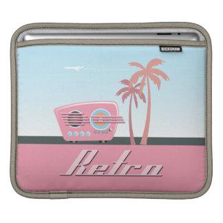 1950 s Retro Radio2 Rickshaw Sleeve iPad Sleeves