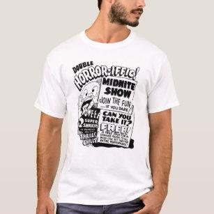 1950 Spook Show Poster Vintage Graphic T-Shirt