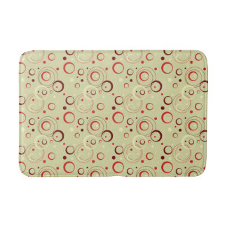 1950s Atomic Design Bath Mat