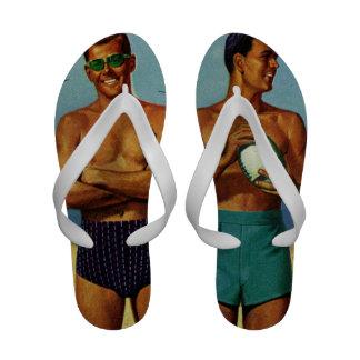 1950s Beach Dudes Sandals