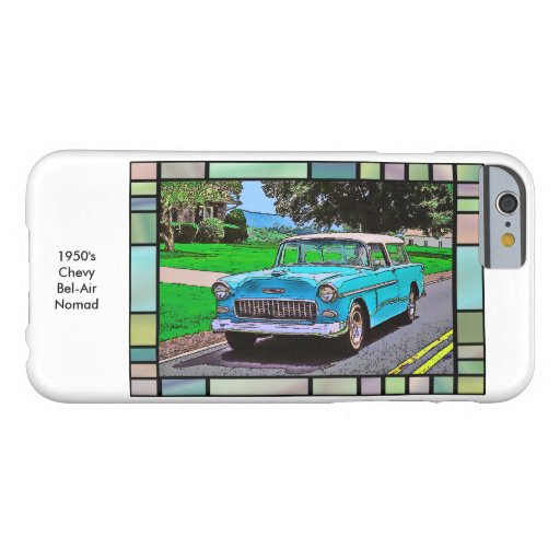 1950's Chevy Bel-Air Nomad iPhone 6 Case