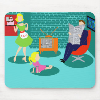 1950's Classic Television Mousepad