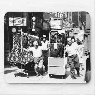 1950's Garment District, New York City Photo Mouse Pad
