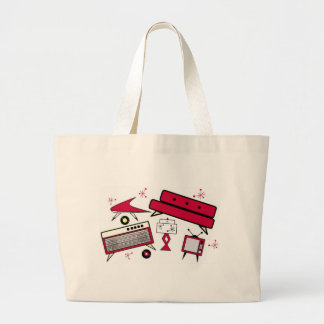 1950'S LIVING ROOM SET TOTE BAGS
