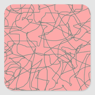 1950's Mid Century Modern Abstract Stickers