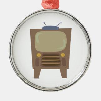 1950's Style Vintage TV Christmas Ornament