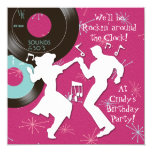1950's Theme Birthday Party Personalised Announcements