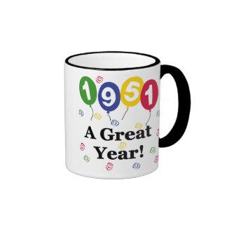 1951 A Great Year Birthday Mug