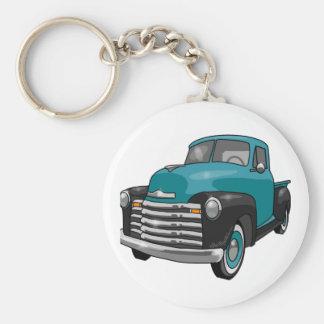 1951 Chevrolet Stepside Pickup Truck Key Chain