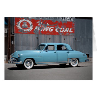 1951 DeSoto Custom Classic Car Greeting Card