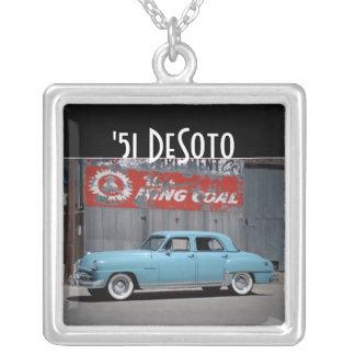 1951 DeSoto Custom Classic Car Necklace