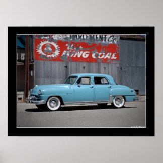 1951 DeSoto Custom Classic Car Poster