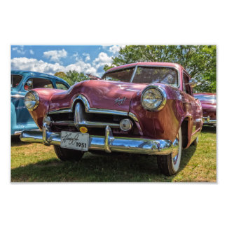 1951 Henry J Classic Car Photo Art