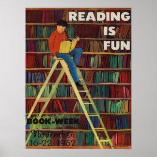 1952 Children's Book Week Poster