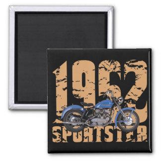 1952 Sportster Square Magnet