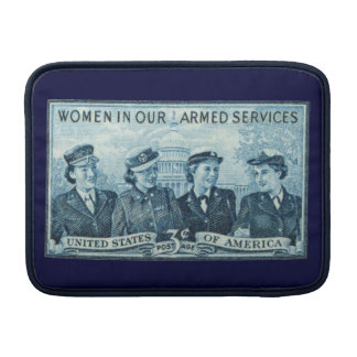 1952 Women in US Armed Services Sleeves For MacBook Air