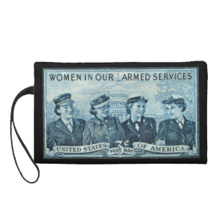 1952 Women in US Armed Services Stamp Wristlets