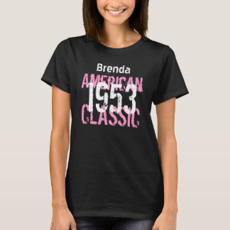 1953 American Classic 60th Birthday Gift for Her T-Shirt