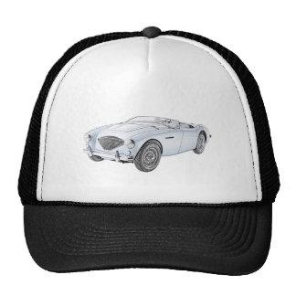 1953 Austin-Healey 100 Hats
