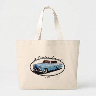 1953 Bel Air T Shirt Canvas Bags