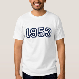 1953 birth year t-shirt